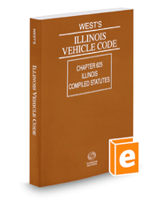 West's® Illinois Vehicle Code, 2016 ed.
