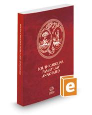South Carolina Family Law Annotated, 2017 ed.