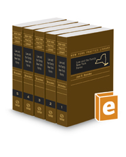 Law and The Family New York Forms, 2019 ed. (New York Practice Library)