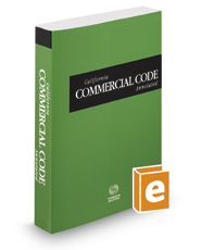 California Commercial Code Annotated, 2018 ed. (California Desktop Codes)
