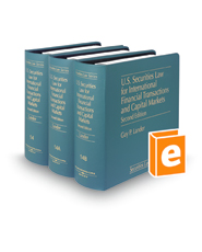 U.S. Securities Law for International Financial Transactions and Capital Markets, 2d (Vols. 14 - 14B, Securities Law Series)