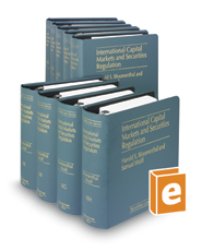 International Capital Markets and Securities Regulation (Vols. 10, 10A, 10B, 10C, 10D, 10E, 10F, 10G, and 10H, Securities Law Series)
