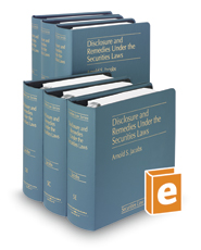 Disclosure and Remedies Under the Securities Laws (Vols. 5, 5A, 5B, 5C, 5D, 5E and 5F, Securities Law Series)