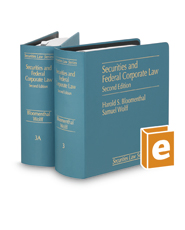 Securities and Federal Corporate Law, 2d (Vols.  3, 3A, 3B, 3C, 3D, 3E, 3F, 3G, 3H, and 3I Securities Law Series)