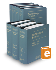 Tax-Advantaged Securities (Vol. 4-4F, Securities Law Series)