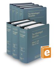 Tax-Advantaged Securities (Vol. 4-4F, Securities Law Series)