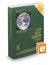 Clean Air Act Handbook, 26th (Environmental Law Series)
