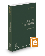 NEPA Law and Litigation, 2d, 2017 ed. (Environmental Law Series)