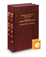 Collection Law, 4th (Vols. 48-48A, Massachusetts Practice Series)