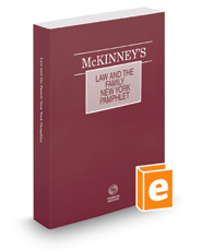 McKinney's® Law and the Family—New York, 2015 ed.