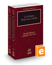Louisiana Personal Injury, 2021 ed. (Louisiana Practice Series)