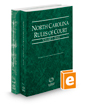 North Carolina Rules of Court - State and Federal, 2017 ed. (Vols. I & II, North Carolina Court Rules)