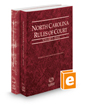 North Carolina Rules of Court - State and Federal, 2018 ed. (Vols. I & II, North Carolina Court Rules)