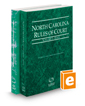 North Carolina Rules of Court - State and Federal, 2021 ed. (Vols. I & II, North Carolina Court Rules)