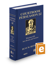 Courtroom Persuasion: Winning with Art, Drama and Science, 2d (AAJ Press)