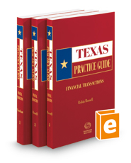 Financial Transactions, 2020-2021 ed. (Texas Practice Guide)