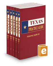Personal Injury, 2d, 2019 ed. (Texas Practice Guide)