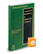 Courtroom Handbook of Minnesota Evidence, 2020 ed. (Vol. 11A, Minnesota Practice Series)