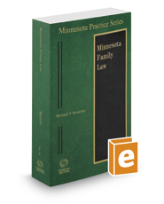 Family Law, 2016-2017 ed. (Vol. 14, Minnesota Practice Series)