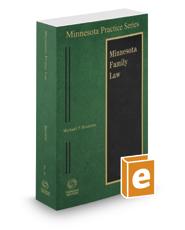 Family Law, 2017-2018 ed. (Vol. 14, Minnesota Practice Series)