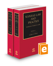 Kansas Family Law, 2015-2016 ed. (Vols. 1 and 2, Kansas Law and Practice)