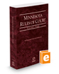 Minnesota Rules of Court - State, 2019 ed. (Vol. I, Minnesota Court Rules)