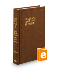 Personal Servitudes, 5th (Vol. 3, Louisiana Civil Law Treatise Series)