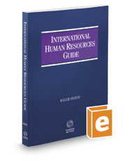 International Human Resources Guide, 2016-2017 ed.