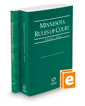 Minnesota Rules of Court - State and Federal, 2017 ed. (Vols. I & II, Minnesota Court Rules)
