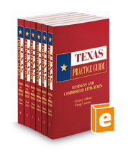Business and Commercial Litigation, 2020-2021 ed. (Texas Practice Guide)