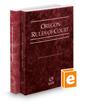 Oregon Rules of Court - State and Federal, 2019 ed. (Vols. I & II, Oregon Court Rules)