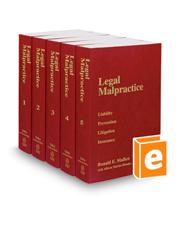Legal Malpractice, 2018 ed.