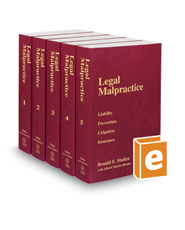 Legal Malpractice, 2020 ed.