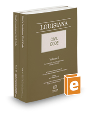 Louisiana Civil Code, 2017 ed.