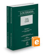 Louisiana Civil Code, 2019 ed.