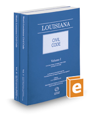 Louisiana Civil Code, 2020 ed.