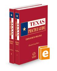 Employment Practice, 2021 ed. (Texas Practice Guide)