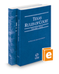 Texas Rules of Court - State and Federal, 2016 ed. (Vols. I & II, Texas Court Rules)