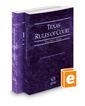 Texas Rules of Court - State and Federal, 2019 ed. (Vols. I & II, Texas Court Rules)