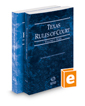 Texas Rules of Court - State and Federal, 2020 ed. (Vols. I & II, Texas Court Rules)