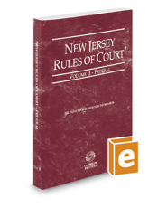 New Jersey Rules of Court - Federal, 2018 ed. (Vol. II, New Jersey Court Rules)