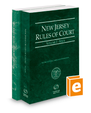 New Jersey Rules of Court - State and Federal, 2019 ed. (Vols. I & II, New Jersey Court Rules)