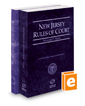 New Jersey Rules of Court - State and Federal, 2020 ed. (Vols. I & II, New Jersey Court Rules)