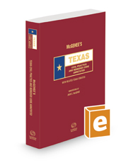 McGehee's Texas Civil Practice and Remedies Codes Annotated, 2020 ed. (Texas Annotated Code Series)