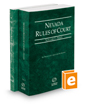 Nevada Rules of Court - State and Federal, 2018 ed. (Vols. I & II, Nevada Court Rules)