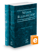 Nevada Rules of Court - State and Federal, 2020 ed. (Vols. I & II, Nevada Court Rules)