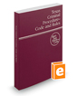 Texas Criminal Procedure—Code and Rules, 2018 ed. (West's® Texas Statutes and Codes)