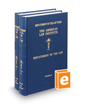 Restatement of the Law (3d) of Agency, Vols. 1-2