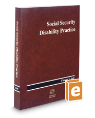 Social Security Disability Practice, 2017 ed.