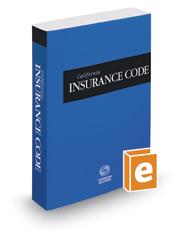 California Insurance Code, 2020 ed. (California Desktop Codes)